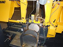 Изготовление заготовок из кругов диаметром до 460 мм на Карачаровской металлобазе